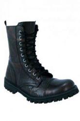10 dírkové Steel Boots Gold bez oceli zip