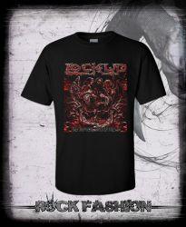 Pánské triko LOCK UP Necropolis Transparent