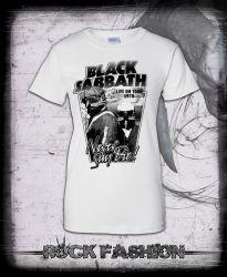 Dámské triko BLACK SABBATH Never Say Die!