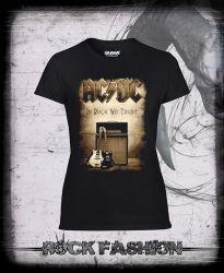 Dámské triko AC/DC In Rock We Trust