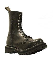 Steel Boots Skull stíraná