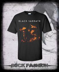 Pánské triko BLACK SABBATH 13 nadměrná velikost