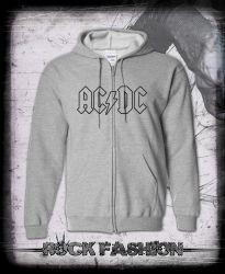 Mikina na zip AC/DC