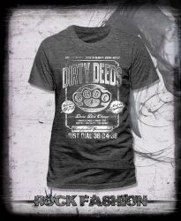 Pánské triko AC/DC Dirty Deeds