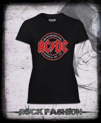 Dámské triko AC/DC Rock N´ Roll