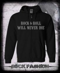 Mikina na zip AC/DC Will Never Die