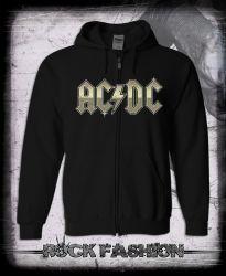 Mikina na zip AC/DC Highway To Hell nadměrná velikost