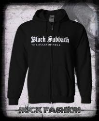 Mikina na zip BLACK SABBATH The Rules Of Hell