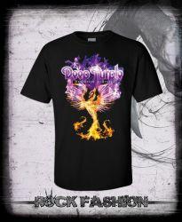 Pánské triko DEEP PURPLE Phoenix Rising nadměrná velikost