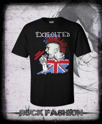 Pánské triko EXPLOITED Punk invasion
