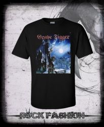 Pánské triko GRAVE DIGGER Excalibur