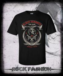 Pánské triko BLACK SABBATH The End nadměrná velikost
