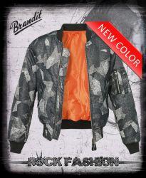 Bunda BRANDIT MA1 Bomber Jacket nightcamo digital