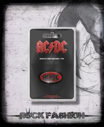 Kovový odznak AC/DC