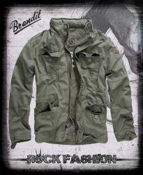 Bunda BRANDIT Britannia Jacket olivová nadměrná velikost