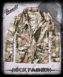 Bunda BRANDIT Britannia Jacket woodland světlý