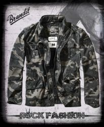 Bunda BRANDIT Britannia Jacket darkcamo