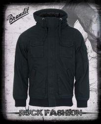 Bunda BRANDIT Bronx Jacket černá