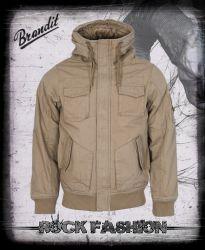 Bunda BRANDIT Bronx Jacket okrová