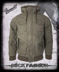 Bunda BRANDIT Bronx Jacket olivová