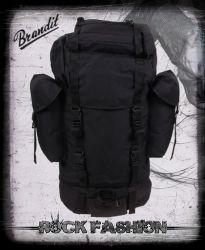 Batoh BRANDIT BW bojový 65 l Nylon Backpack černý