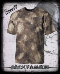 Pánské triko US T-Shirt HDT camo