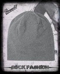 Čepice BRANDIT Beanie Jersey Uni šedá