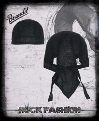 Bandana Headwrap černá