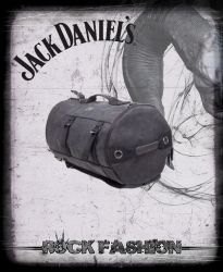 Batoh JACK DANIELS Canvas Duffle šedý