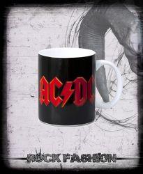 Hrnek AC/DC Logo White
