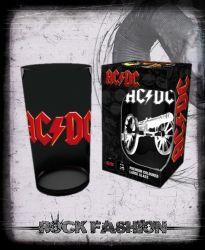 Sklenice AC/DC Logo Canon