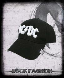 Kšiltovka AC/DC Logo White