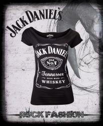 Dámské tričko JACK DANIELS cvoky
