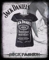 Dámské tričko JACK DANIELS plísňované