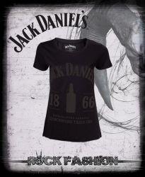 Dámské tričko JACK DANIELS 1866 černé
