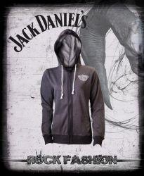 Dámská mikina s kapucí JACK DANIELS Old No.7 logo