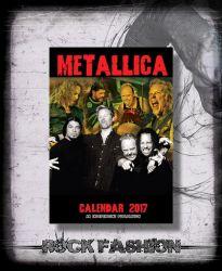 Kalendář METALLICA 2017