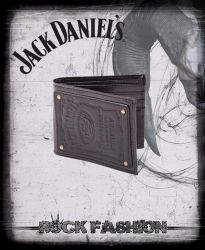Peněženka JACK DANIELS 3D logo