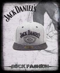 Kšiltovka JACK DANIELS Old No.7 logo šedá