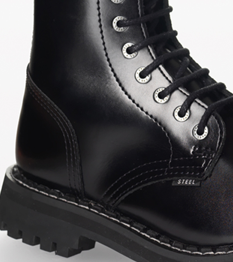 Steel Boots Černá  527b2f3e93